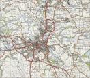 Burnley - ordnance survey snip