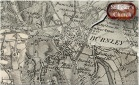 Burnley in the nineteenth century - map amalgam