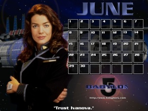 Susan Ivanova from Babylon 5