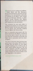 Blurb from dust jacket to Invader from Space