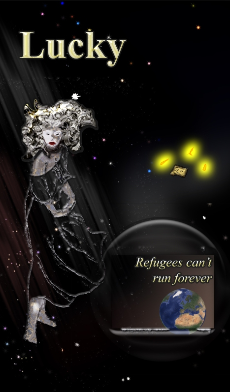 Cover to Refugees cant run forever