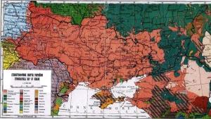 Ethnic Ukraine circa 1900