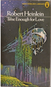 Time Enough for Love  - Robert Heinlein illustration by Bruce Pennington