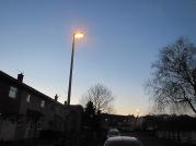 Helmshore lanterns on Burnley's promotion