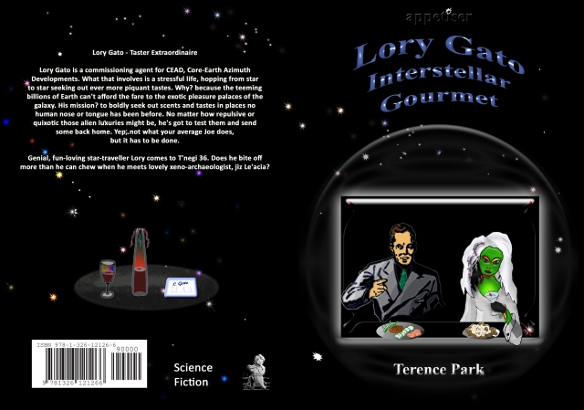 Lory Gato, Interstellar Gourmet, cover