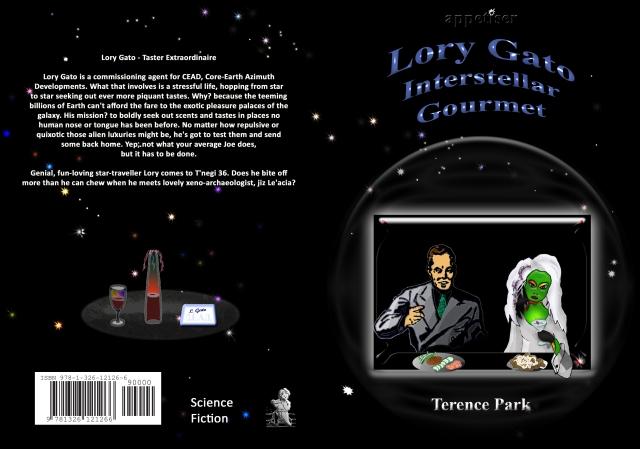 Lory Gato, Interstellar Gourmet, cover