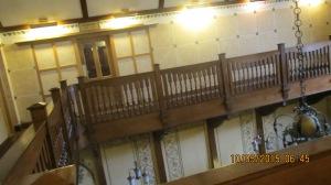 Elmbak Hotel across the stairwell