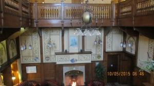 Elmbak Hotel central stairwell