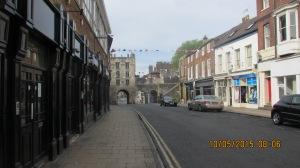 Looking to Micklegate, York