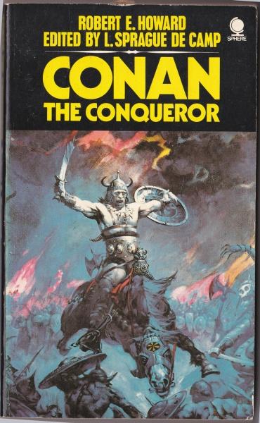 Conan-the-Conqueror Sphere edition, Frank Frazetta cover