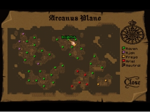Arcanus Plane - random map
