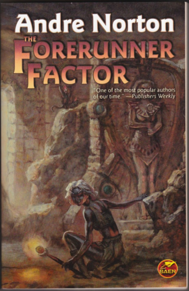 Front cover to Andre Norton's The Forerunner Factor