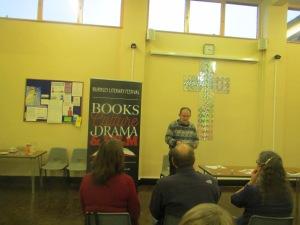 Edmund Aziz Dixon reading on his 'Poet Emerging' tour