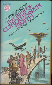 cover to The best of Cordwainer Smith - 1975 Ballantine pb