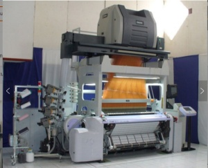 Mel International Heat slit label loom