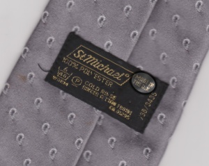 M&S country of origin (label tie detail)