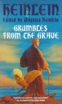 Heinlein Grumbles from the Grave edited by Virginia Heinlein, cover from 1989 Orbit edition